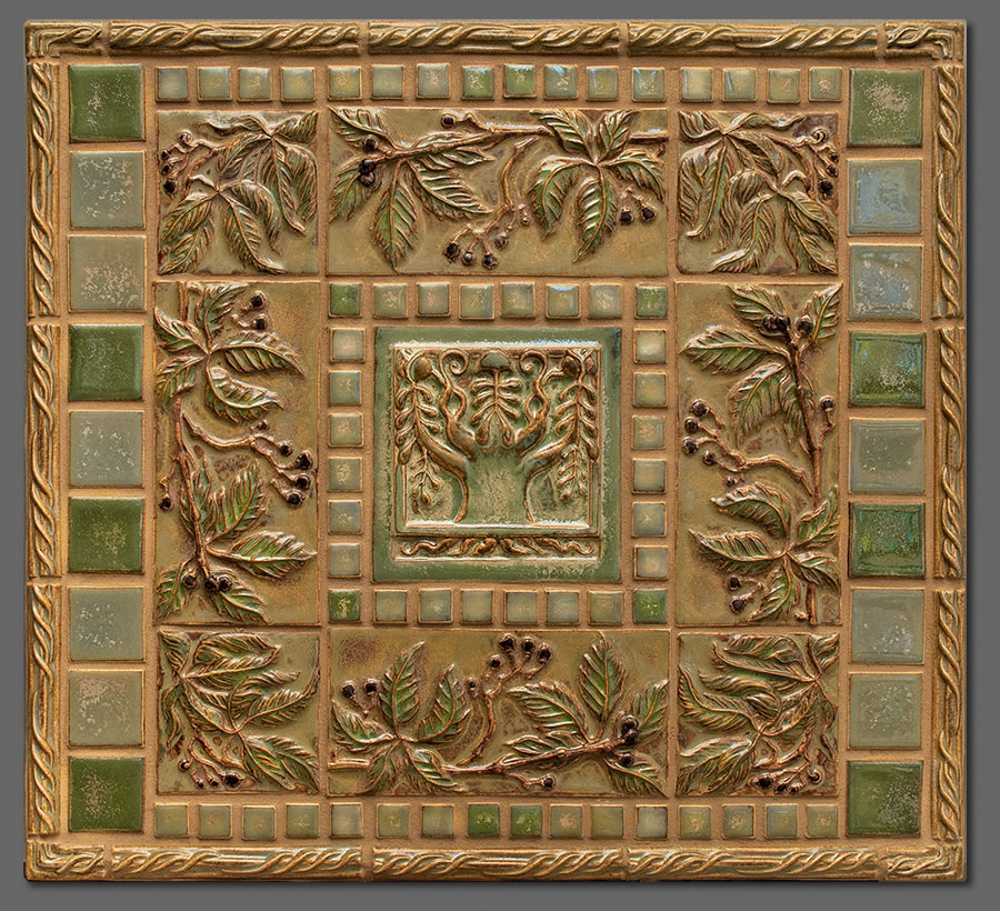 Terra firma ltd handmade arts and crafts tile concepts for Arts and crafts tiles