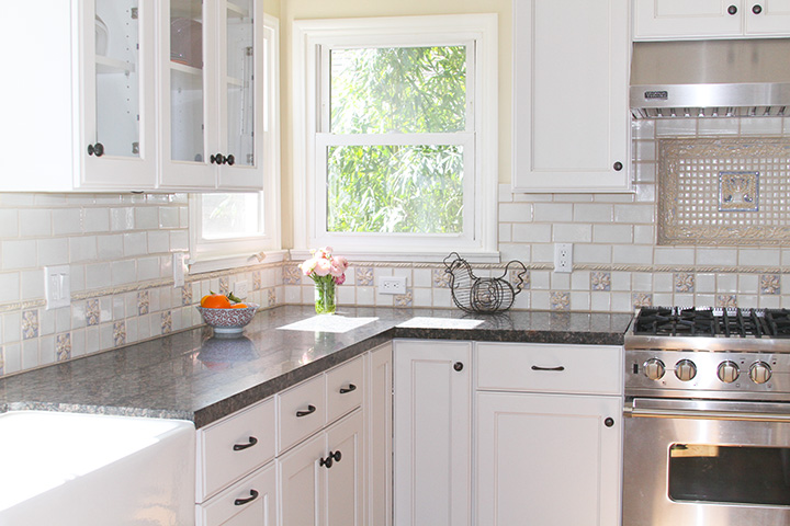 Handmade Tiles Kitchen Backsplash