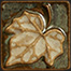 Handmade Tile - Small Leaf